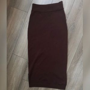 EUC Aritzia Wilfred wool pencil skirt - small